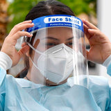 Face Shield Protective Isolation Masks - Canada Gloves Direct