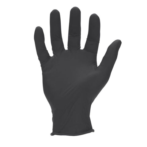 Horse Power 6 Mil Black Nitrile Industrial Gloves - Canada Gloves Direct
