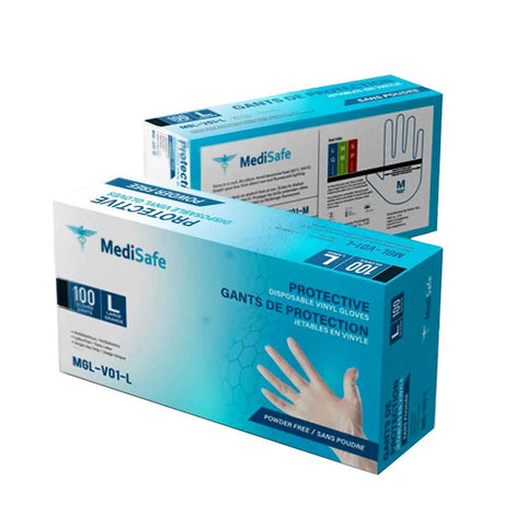 MediSafe Protective Food Safe Vinyl Gloves - Canada Gloves Direct