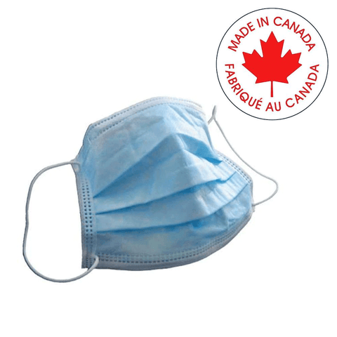 MADE IN CANADA Surgical Ear-loop Masks-Level III - Canada Gloves Direct