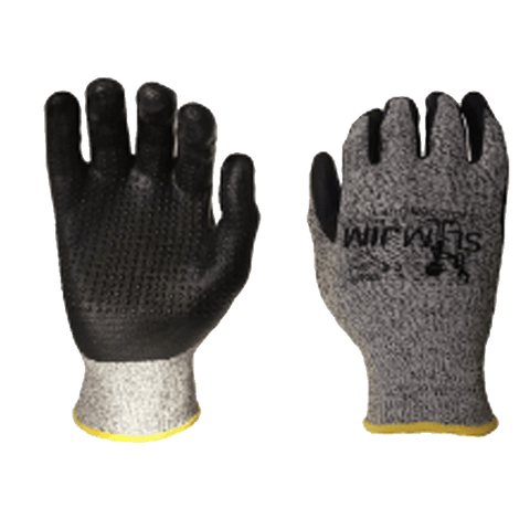 SLIMJIM D-FENCE 500ND - HPPE SHELL, FOAM NITRILE / NITRILE DOT CUT RESISTANT GLOVE - Canada Gloves Direct