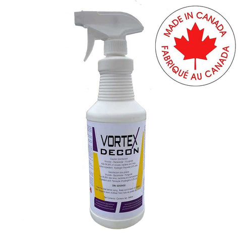 Vortex Sanitizer Spray - 1 liter spray bottle - Canada Gloves Direct