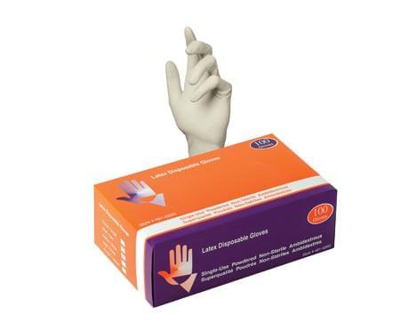 Safe Guard Disposable Latex Gloves Industrial/Food Grade - Canada Gloves Direct