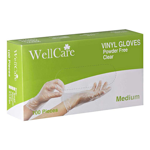Well Care Food Safe Vinyl Gloves - Canada Gloves Direct