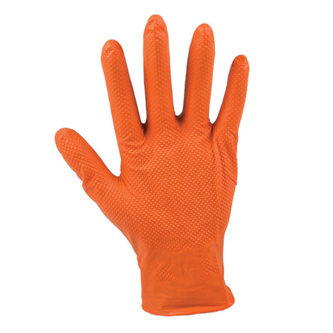 Orange Sapfir 6 mil Orange Nitrile Gloves - Food Safe - Canada Gloves Direct