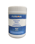Fusion Antibacterial Surface Wipes - 100 piece canisters - Canada Gloves Direct