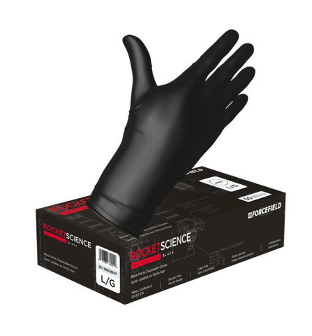 Rocket Science, 8mil Heavy-Duty Nitrile Disposable Gloves - Canada Gloves Direct