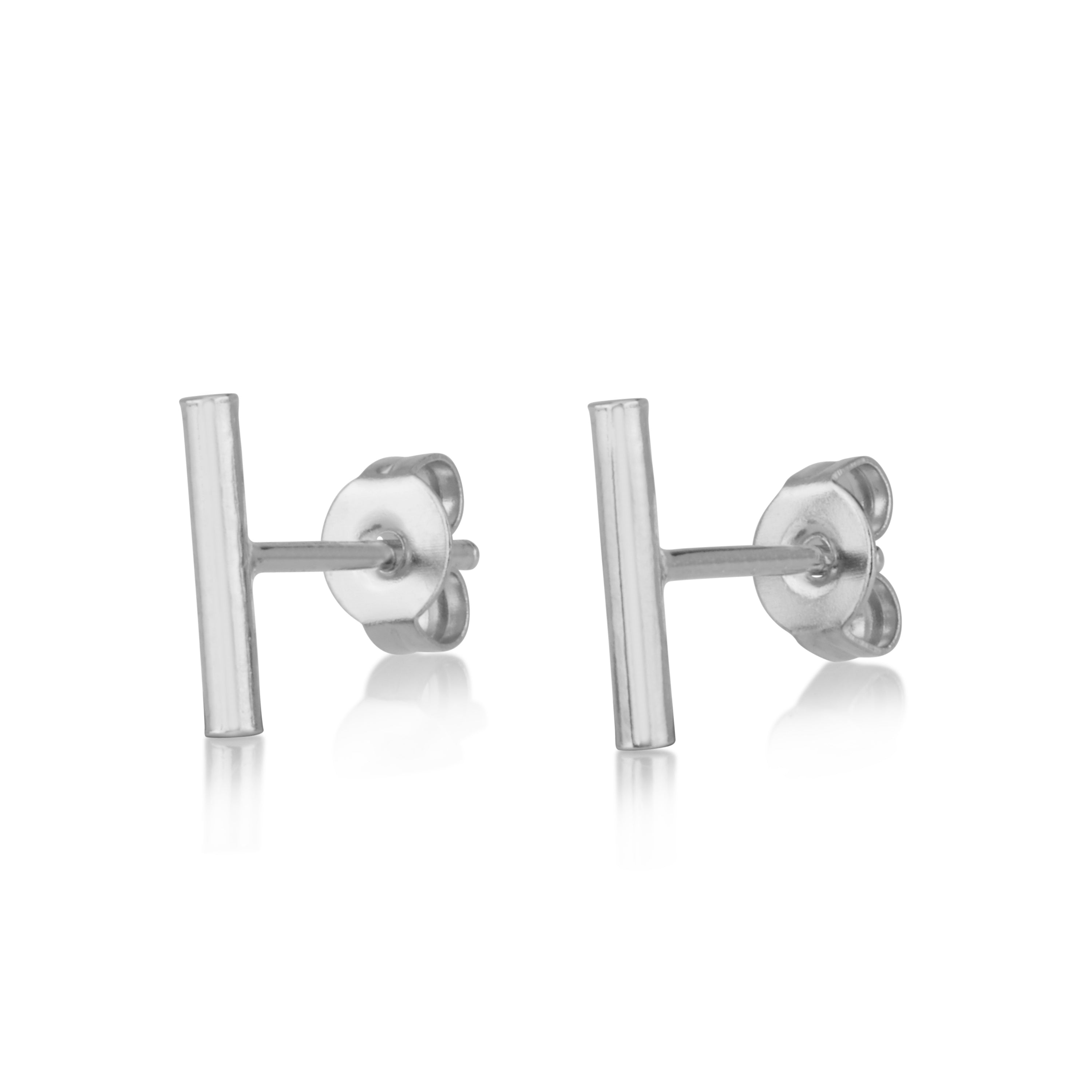 Stripe Stud Earrings