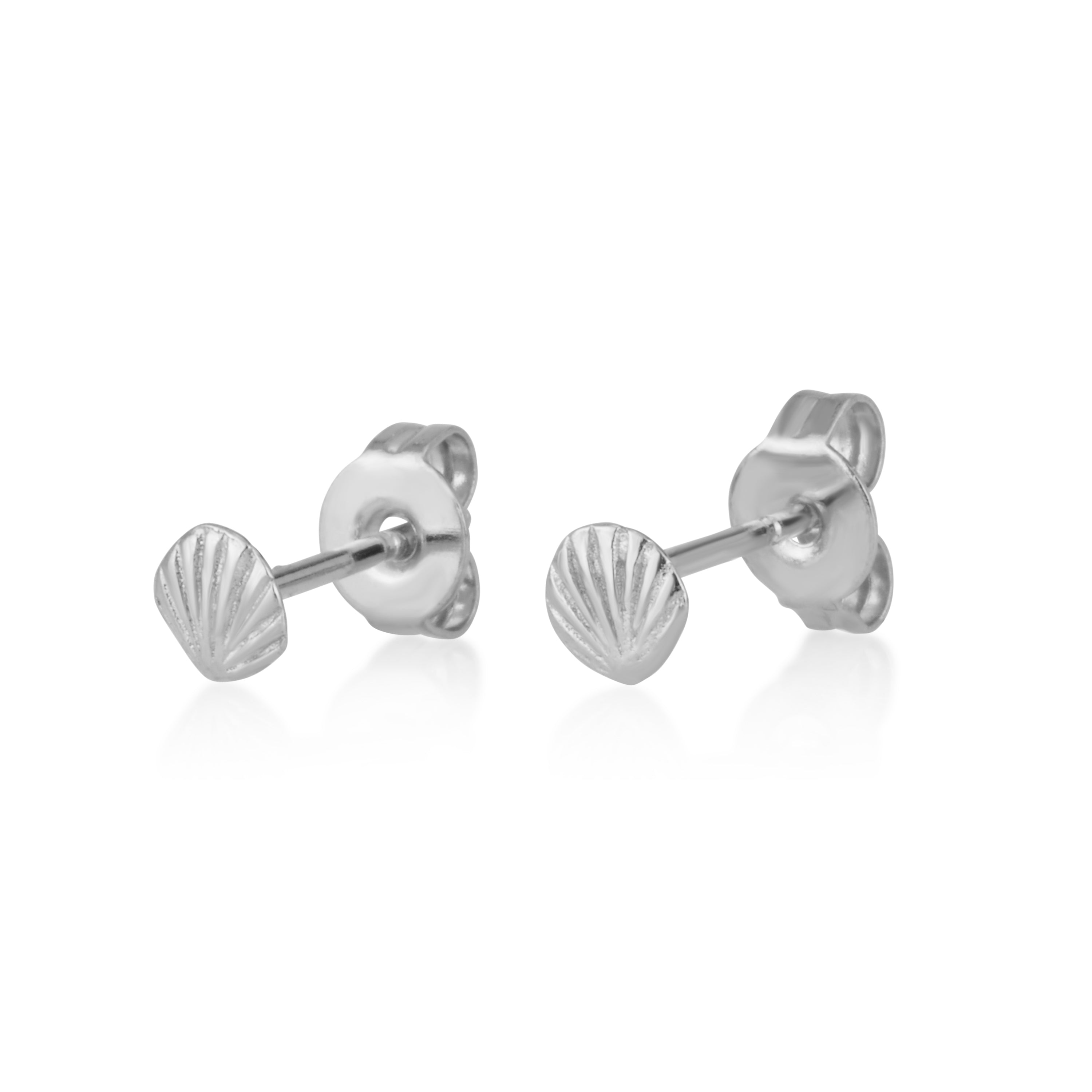 Shell Stud Earrings