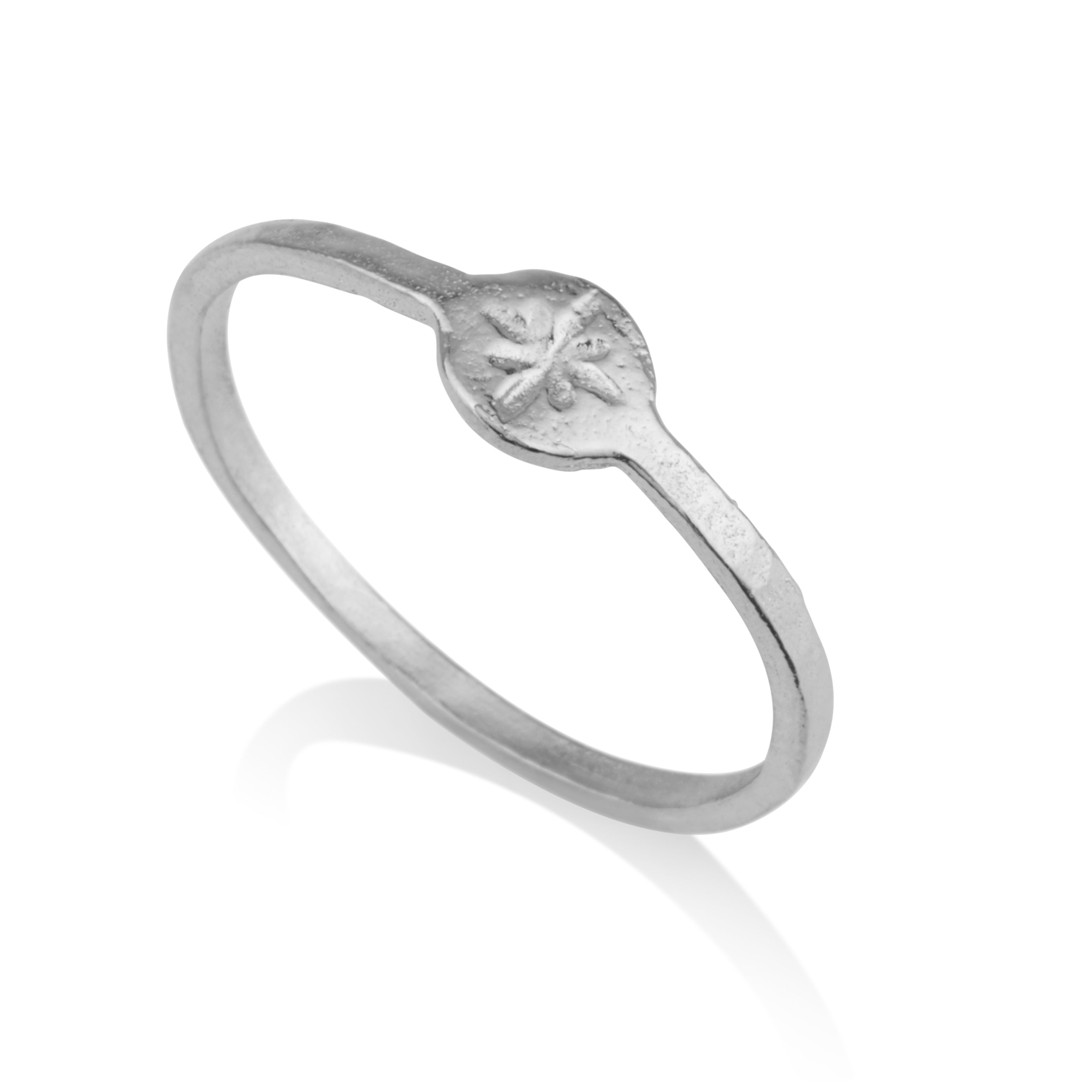 Star Engraving Ring