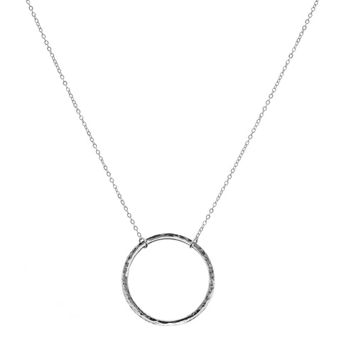 L Karma Pendant & Helen chain Necklace
