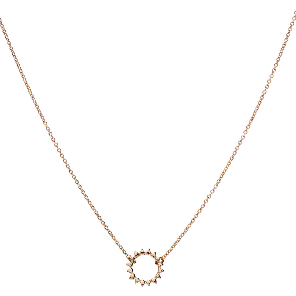S Sun pendant & Helen Chain Necklace