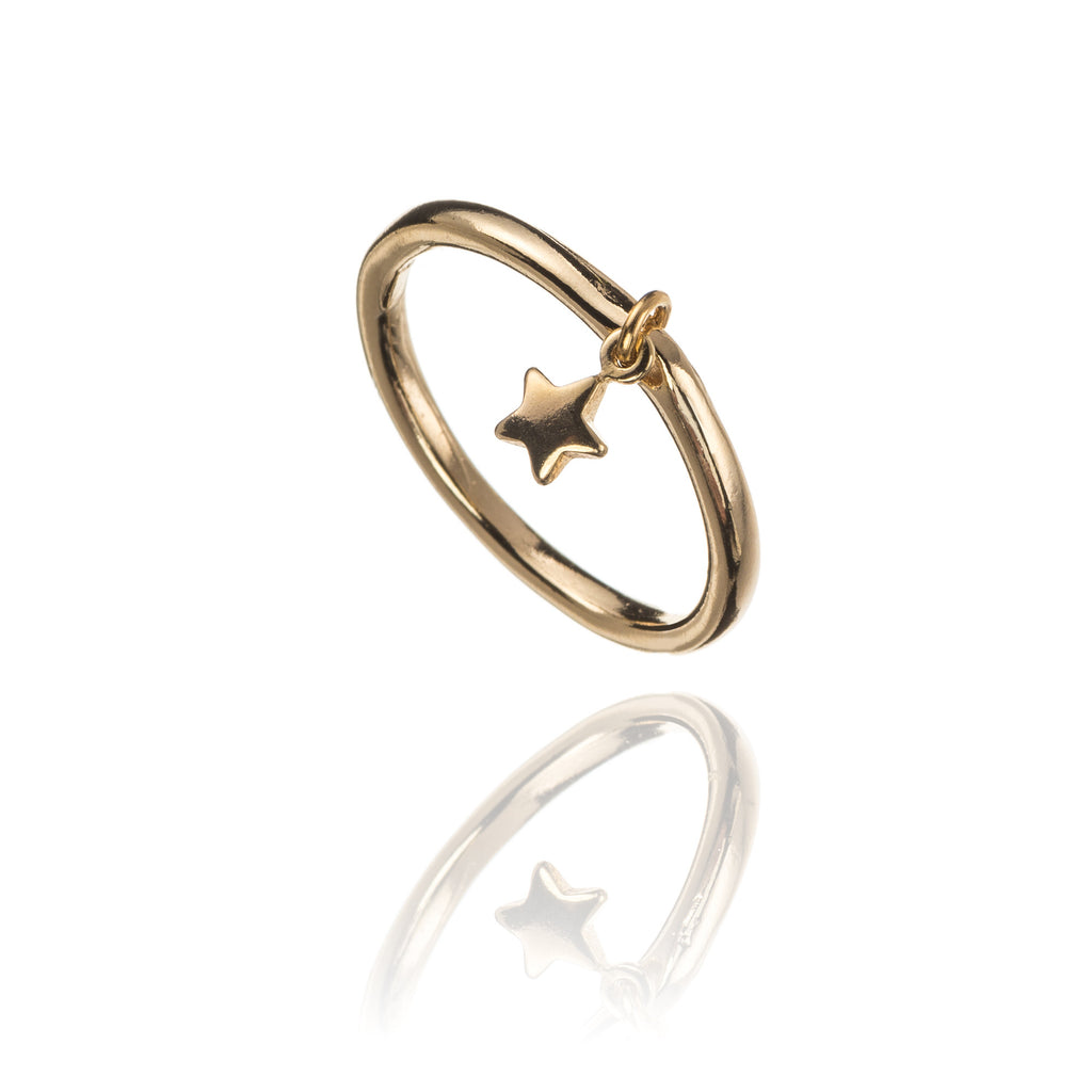 Star Charm on Ring