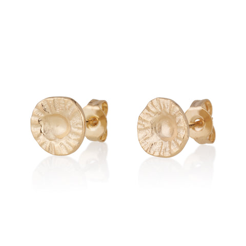 Hen Stud Earrings