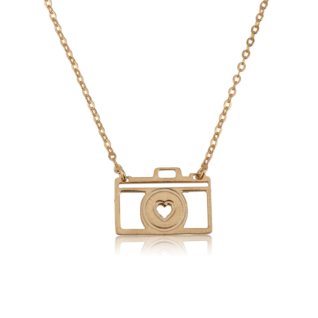 Photo Camera Necklace