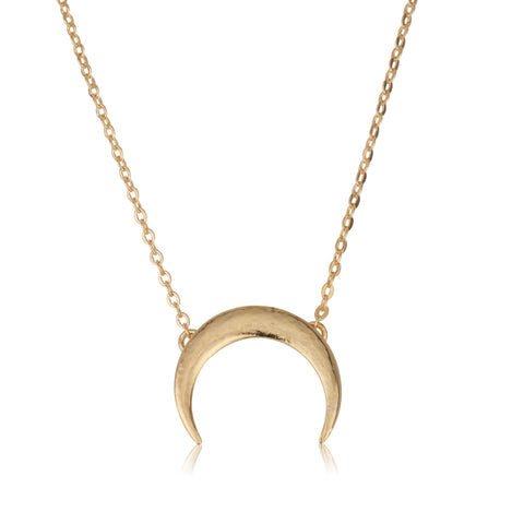 Moon With Romi Chain Necklace