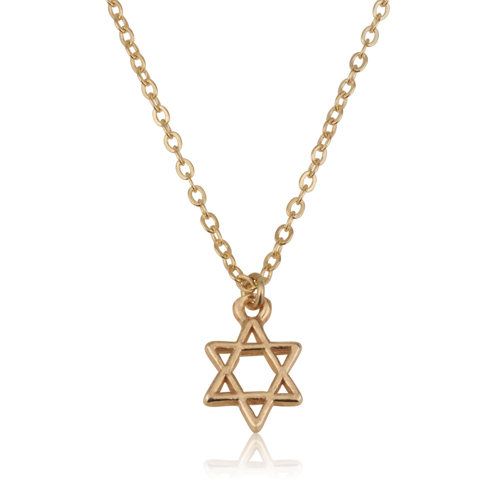 Medium Star Of David Necklace