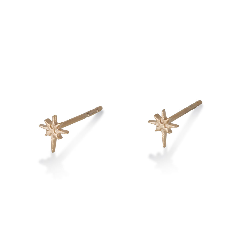 North Star Stud Earrings