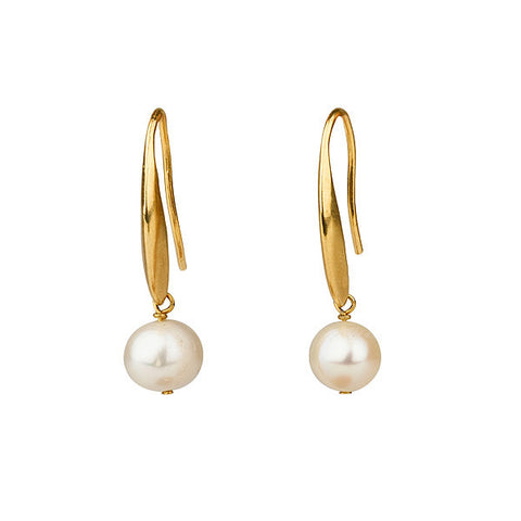Earrings - Big Pearl Earrings