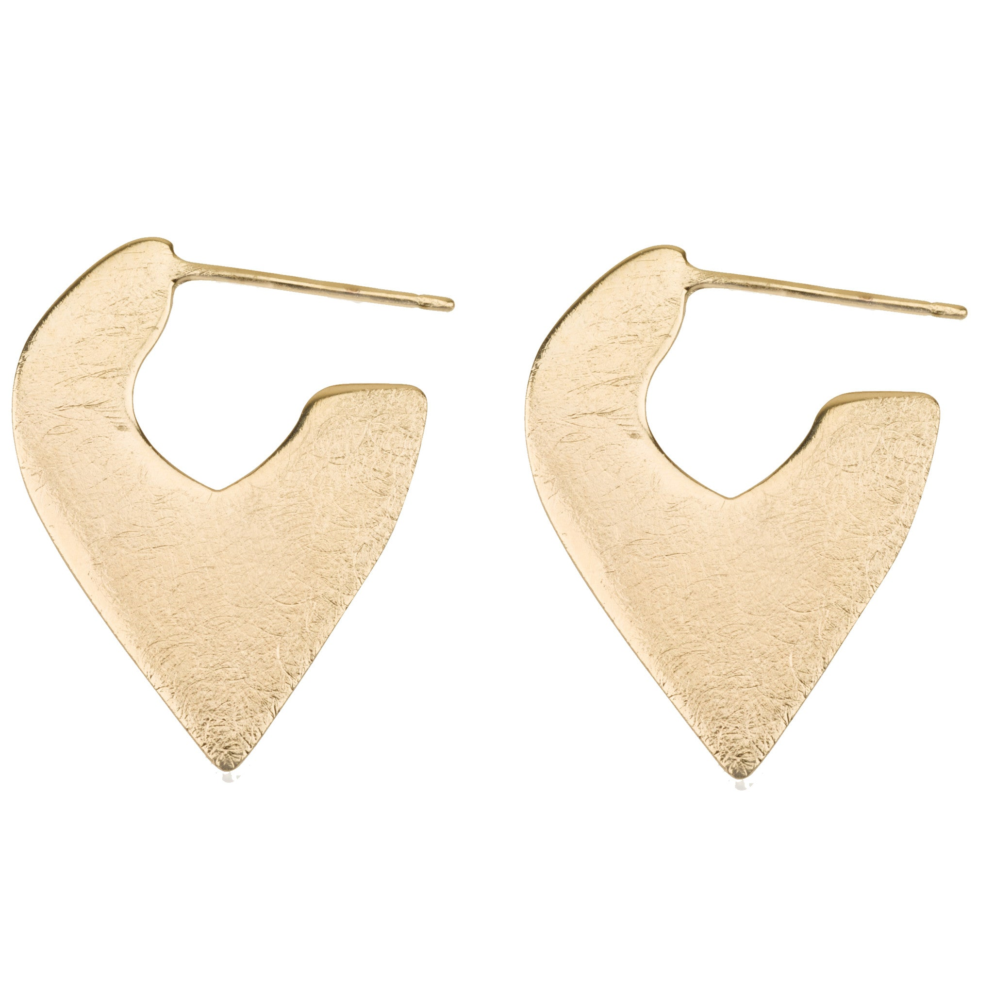 python ear earrings hoop rings burnmarkny products pyrite metallic burnmark