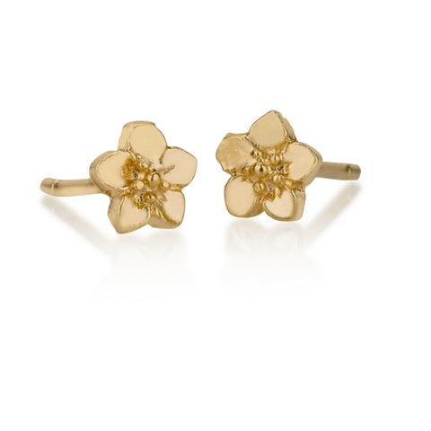 Earrings - Small Flower Stud Earrings