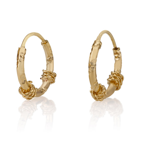 Earrings - Stylish 2 Strings Gipsy Earrings