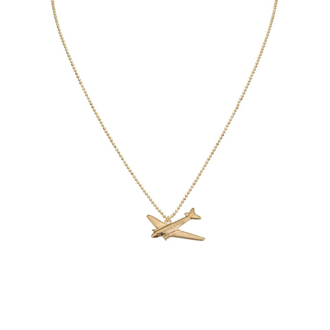 Necklaces - Big Airplane & Romi Chain Necklace
