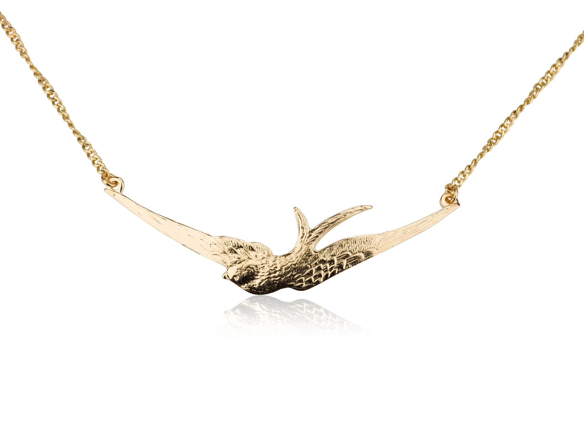 Necklaces - Big Free Bird & Helen Chain Necklace