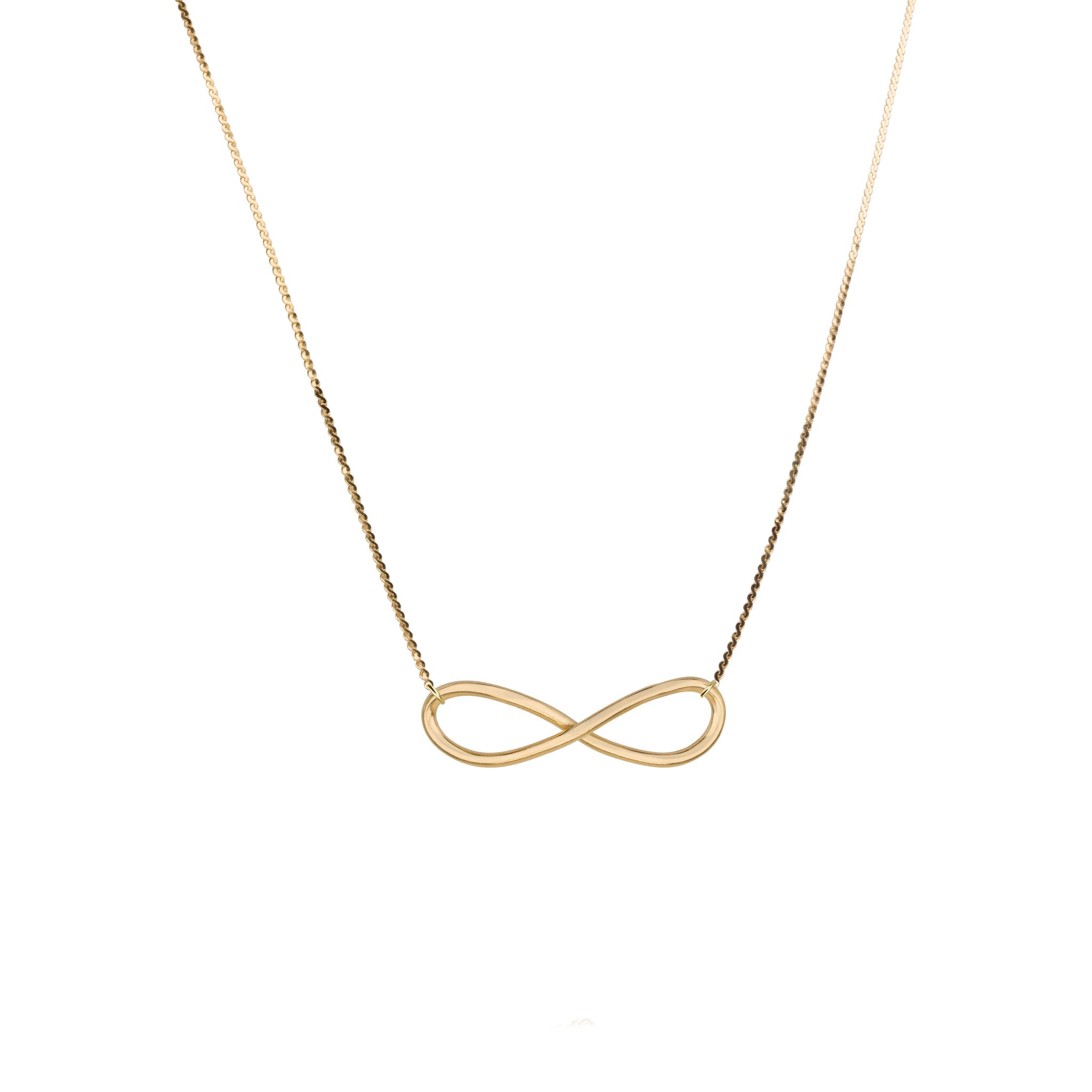 silver products necklace infinity sign beauty endless dsf jewels baguette collections