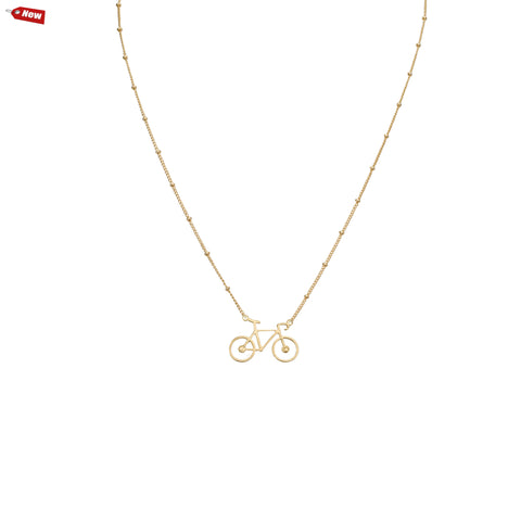 Necklaces - Romantic Bicycle & Sivan Chain Necklace