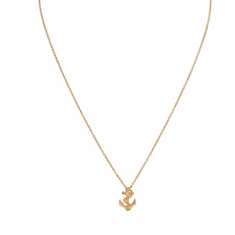 Necklaces - Small Anchor & Helen Chain Necklace