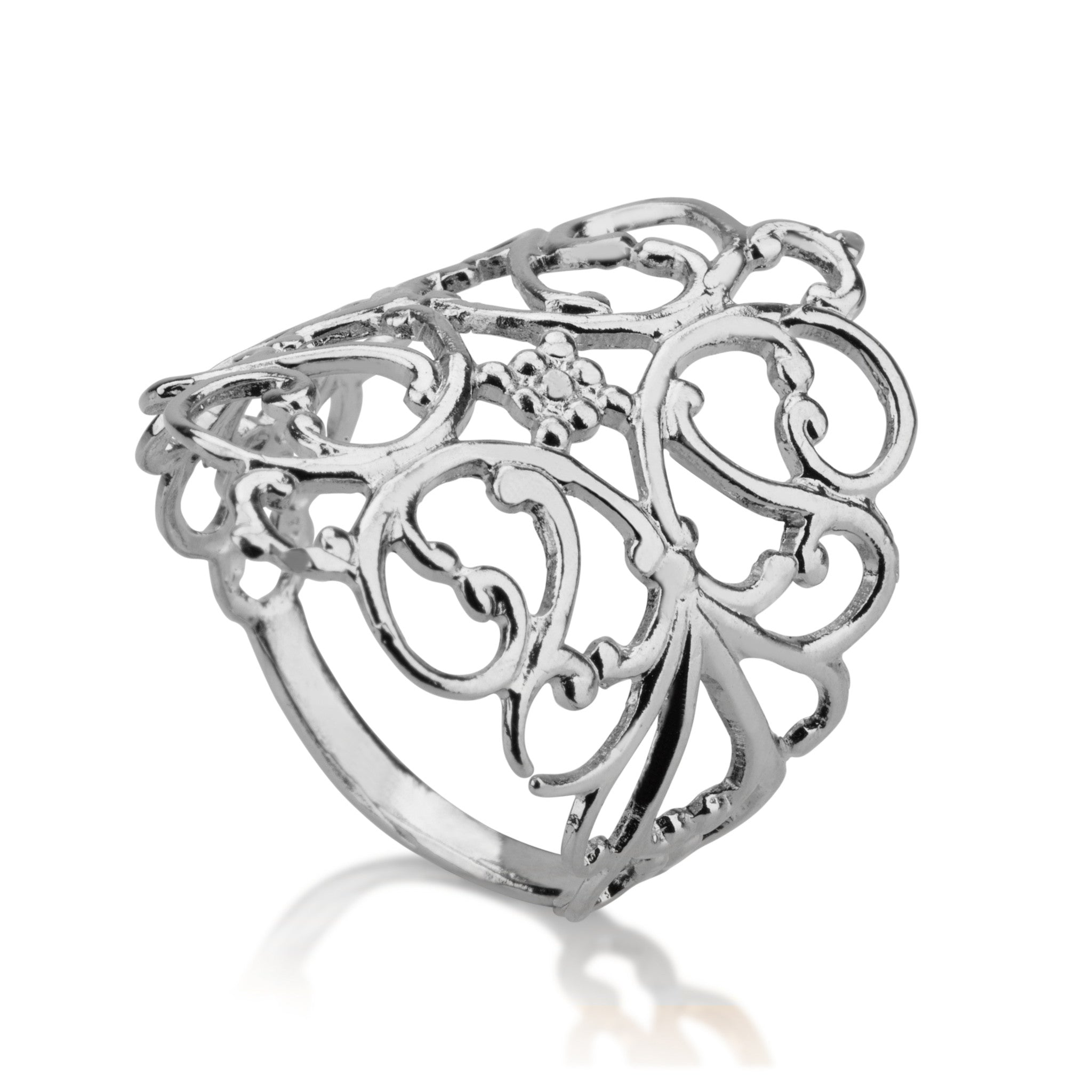 Rings - Filligrin Diamond Ring