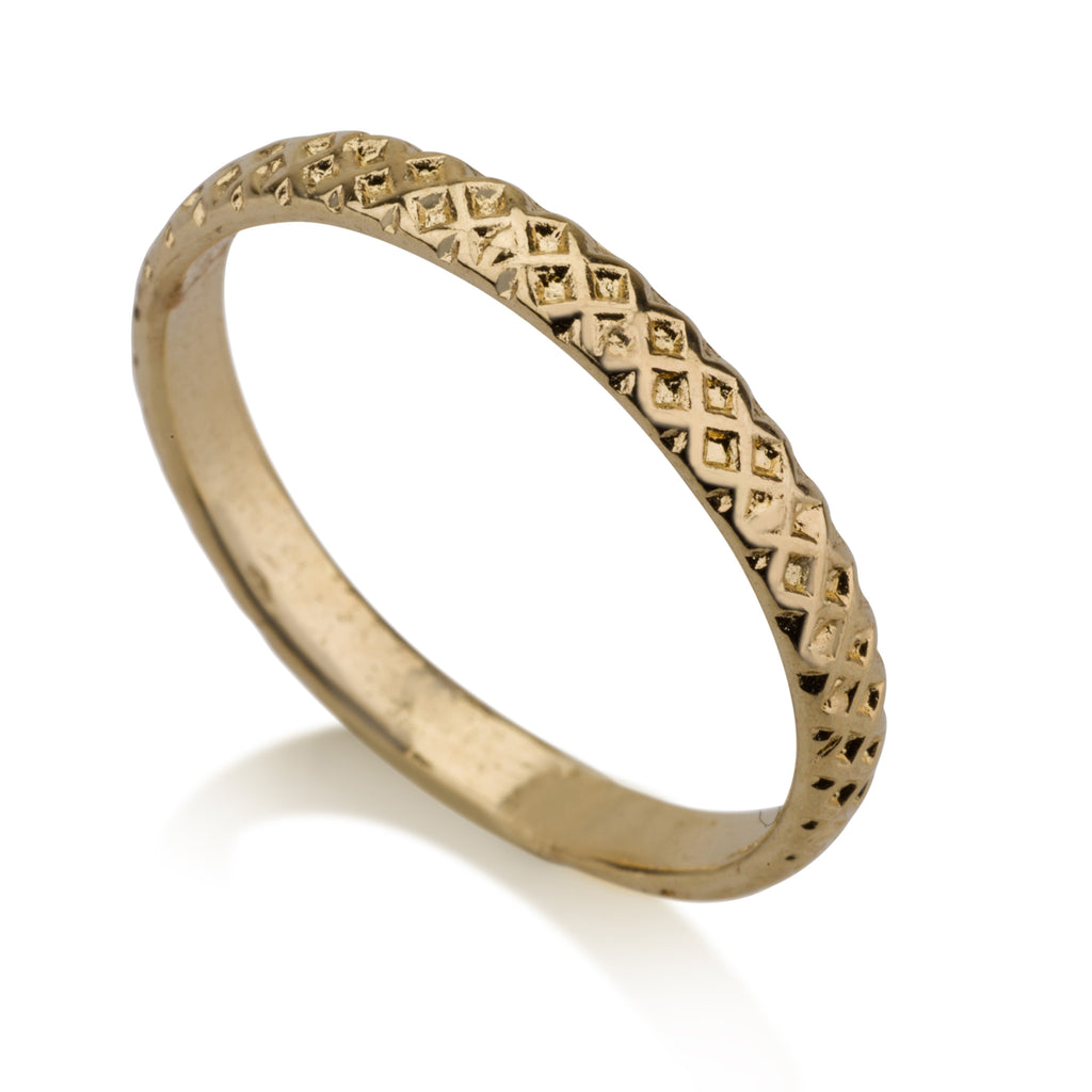Rings - Flat Texture Ring