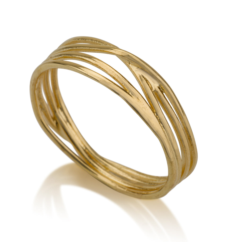 Rings - Wrapped String Ring