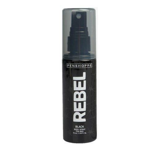 Penshoppe Rebel Body Spray Black 70ml