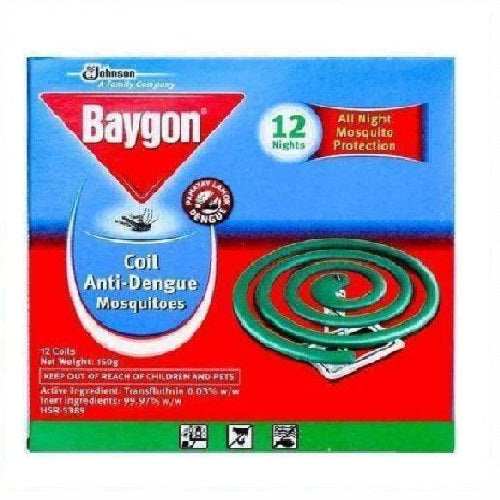 Baygon Mosquito Coil Anti-Dengue 12's