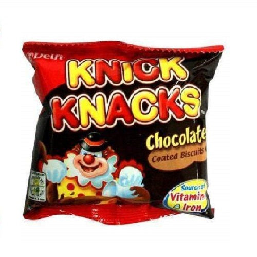 Knick Knacks Coated Biscuit Chocolate 21g