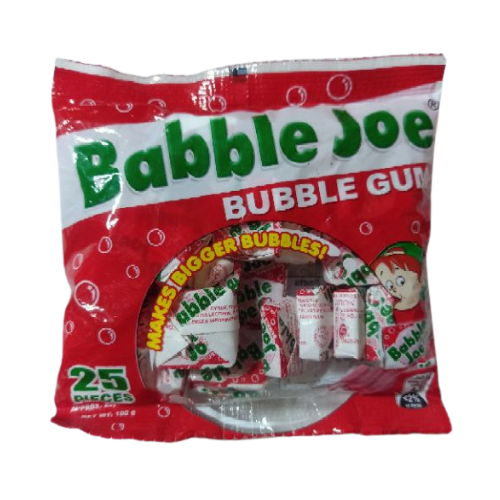 Babble Joe Bubble Gum 25's
