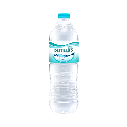 Nature's Spring Water Distilled 1L