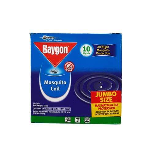 Baygon House Care Baygon Mosquito Coil Scented Jumbo 10's