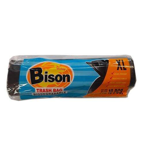 "Bison Party Needs Bison Trash Bags XL 15"" x 15"" x 37"" 10's"
