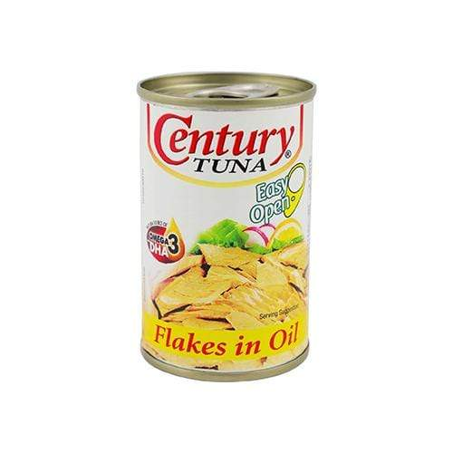 Century Canned Seafood Century Tuna Flakes  OIL 155g