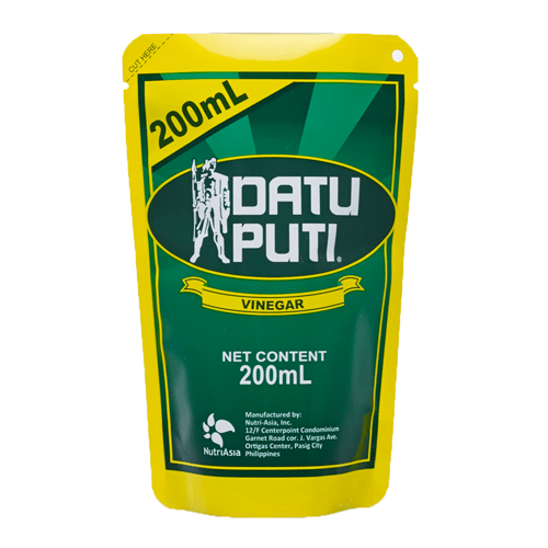 Datu Puti Seasonings Datu Puti White Vinegar TABA PACK 200ml