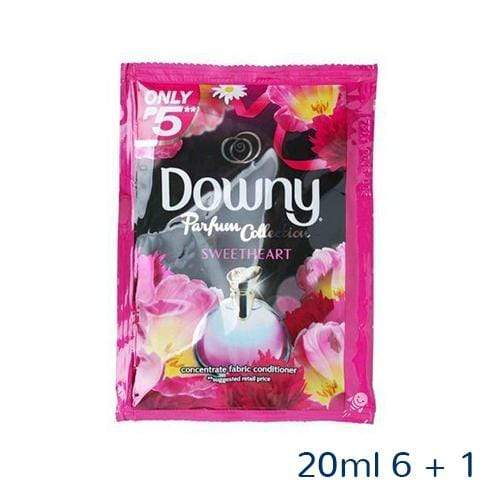 Downy Laundry Downy Fabric Conditioner Parfum Sweetheart 20ml 6 + 1