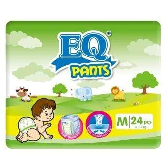 Eq Baby Care EQ Pants Diaper Big Pack Medium 24's