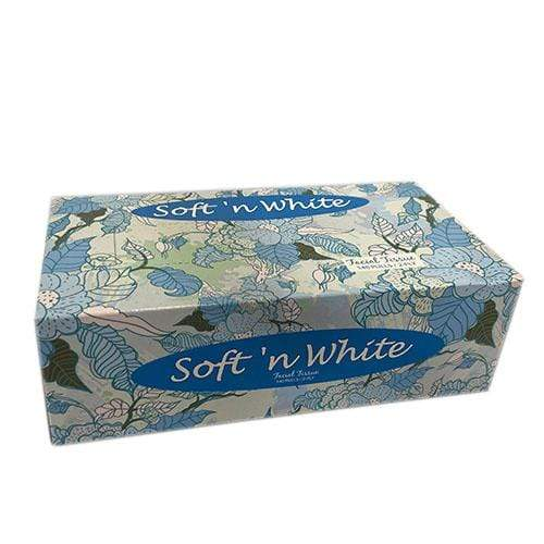 Extra House Care Extra Soft N White Facial Box Tissue 2Ply 140 pulls 280sheets