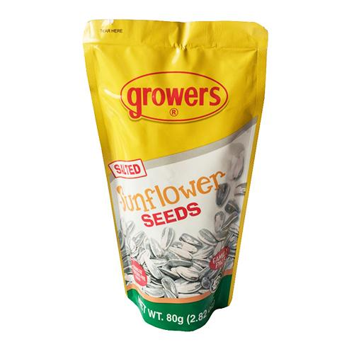 Growers Nuts & Preserves Growers Salted Sunflower Seeds  80g