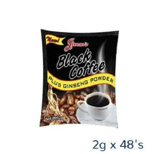 Jimm's Black Coffee with Ginseng 2g x 48's