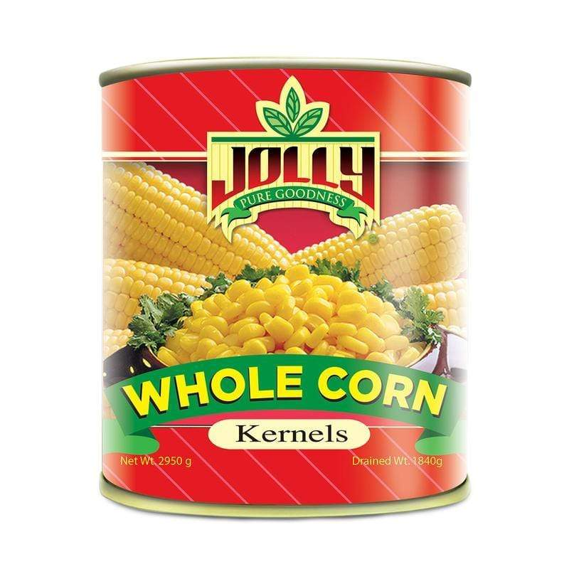Jolly Canned Vegetables Jolly Whole Kernel Corn 2950g