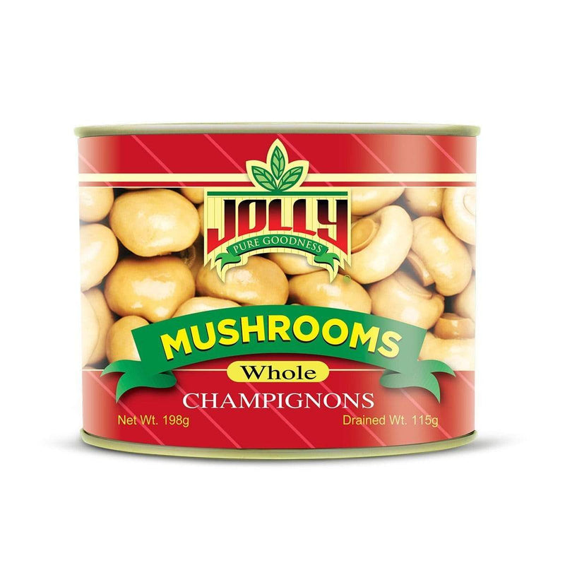 Jolly Canned Vegetables Jolly Whole Mushrooms 198g